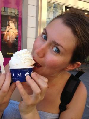 Régalade de glace à Milan