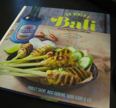 Les petits plats Marabout - Un dîner à Bali - Sandra Mahut