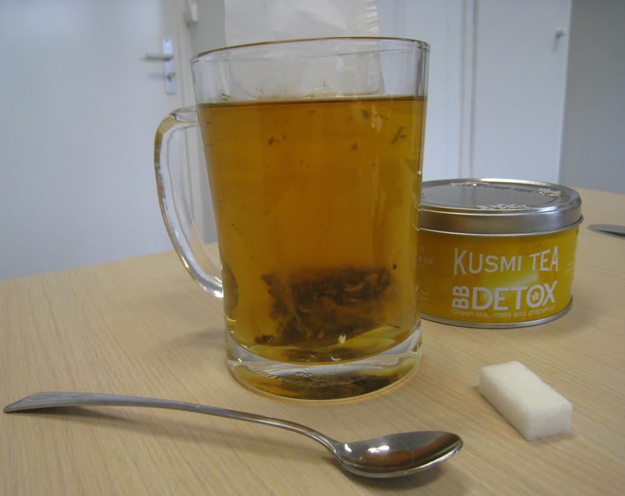 le th de la semaine bb detox kusmi tea gourmande mais pas cuistot. Black Bedroom Furniture Sets. Home Design Ideas
