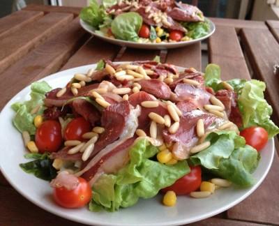 Une salade landaise pour oublier le temps gris