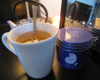 Le thé blanc Lov Organic myrtille coco