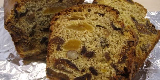 Un pain d'épices de Saint-Nicolas aux fruits secs