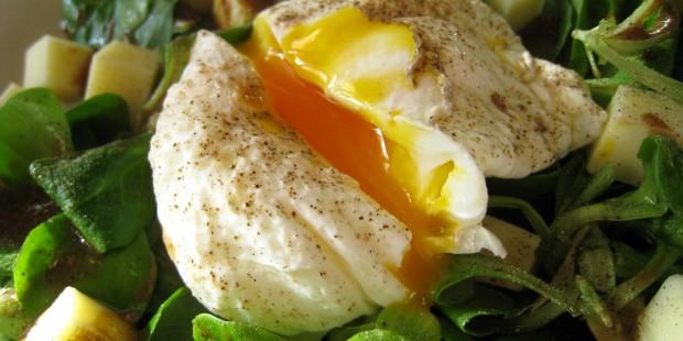 Idée de brunch #4 - faisselle et œuf poché