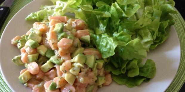 Tartares de saumon légers et printaniers