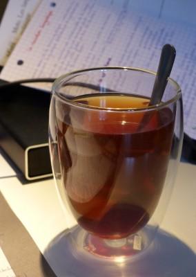 Thé de Noël Essencia : Noël princier, thé noir goût champagné rosé
