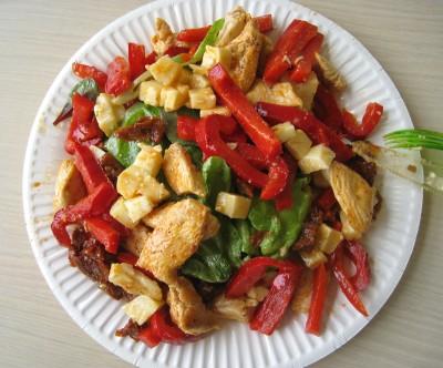 salade-poulet-poivrons-2