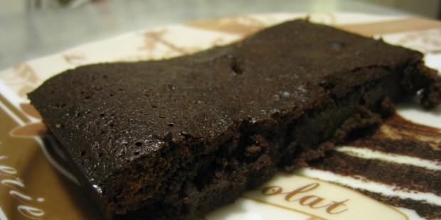 Fondant au chocolat caramelisé pour le goûter