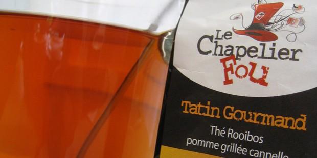 Thé de la semaine : le Chapelier fou - Tatin gourmand