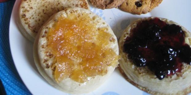 Idée de brunch #3 - Crumpets et œufs cocotte