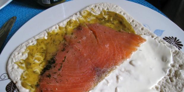 Ikea - le sandwich en kit saumon et aneth