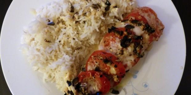 Papillote de saumon, tomate et mozza [+ concours]